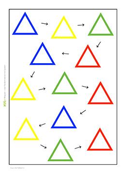 formenkette-dreieck-4-farben