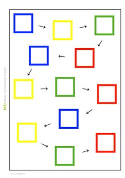 formenkette-quadrat-4-farben